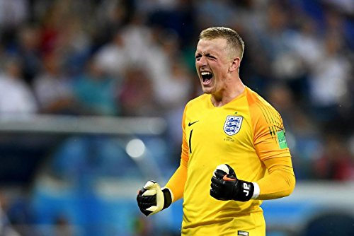 n Pickford - England World Cup - Football Wall Print - 30CM X 43CM Brand New ()