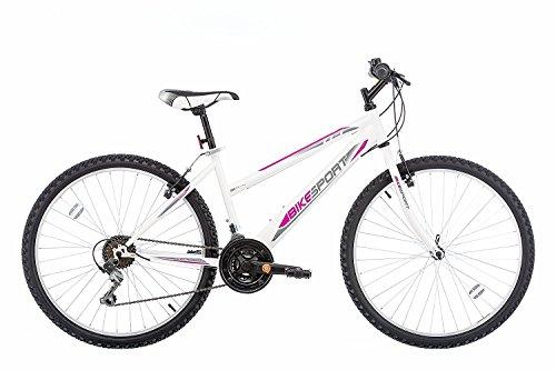 26 Zoll Bikesport ADVENTURE Mädchenfahrrad Damen Mountainbike RH 41 cm, Shimano 18 Gang