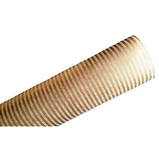 autooptimierer.de Schrankpapier Rolle Nicht klebend als Schubladeneinsatz Papier beschichtet für Schubladen oder Schrank Auslegepapier Set (Gold, 4)
