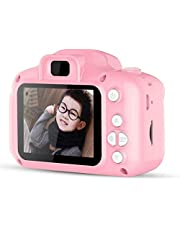 IndusBay Kids Digital Camera Video Recorder , Mini 2 Inches Screen Children's Camera 8MP Digital Camcorder Great Gift for 4-8 Year Old Girls Or Boys (Pink)