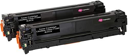 2 INK INSPIRATION® Premium Toner für HP Laserjet CM1312 CM1312nf CM1312nfi CP1215 CP1217 CP1514n CP1515n CP1518ni Canon I-SENSYS MF8050Cn | kompatibel zu HP 125A CB540A & Canon CRG-716 | 2.200 Seiten -