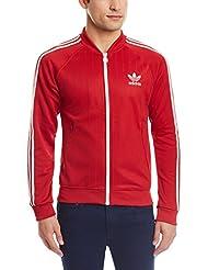 adidas Originals:Chaqueta Retro RUSSIA TT Rojo AJ8023