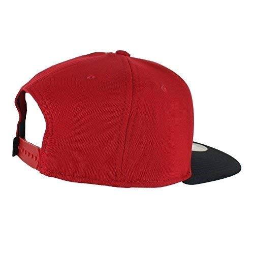 08f2253eab Nike Jordan Jumpman Snapback, Berretto Regolabile Uomo, Rosso/Nero, Taglia  Unica