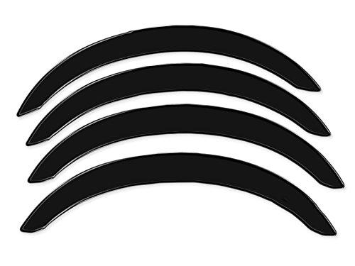R.S.N. 113 nero lucido, parafanghi ruota archi , parafanghini passaruota nero lucido