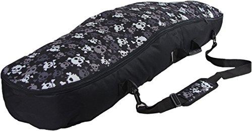 WITAN SNOWBOARDTASCHE Snowboard Tasche Boardbag 125 135 145 cm 'BERGA' (125cm, E - Skulls)