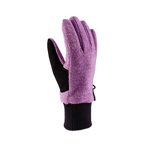 Viking Multifunktions Handschuhe aus Wolle Damen Winter - extra warm - ideal für Wanderungen, Langlauf, Eislaufen, Radfahren - Alta, 48 rosa, 5