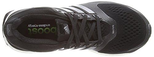 adidas Energy Boost ESM, Scarpe da corsa donna Nero (Schwarz (Core Black/Core Black/Solar Yellow))