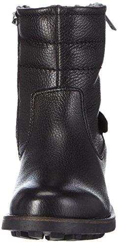 Marc O'Polo Biker Boot, Bottes Motardes femme Noir (990 Black)