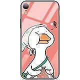 Caceesc Apple IPhone Xs Max Funda para teléfono Lindo Pato de dibujos animados Pareja Anti-