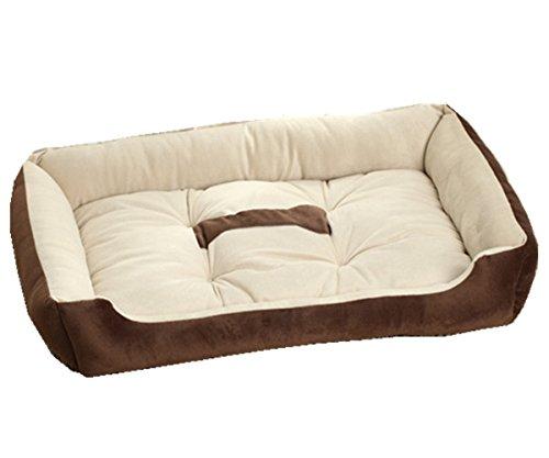 L-peach pet casa cuscino sfoderabile divanetti rettangolare per cani letto ultra-morbido caldo accogliente dell'animale domestico lusso portatile