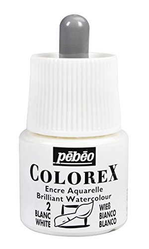 Colorex Aquarelltinte, PET, Weiß, 4.5 x 4.5 x 7 cm, 1 Einheiten