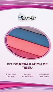 Kit de réparation instantanée et sans colle de tissu (nylon, coton, Dacron, Cordura, toile, Gore-Tex, Sympatex, néoprène, caoutchouc, etc.)