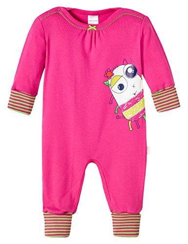 Schiesser Baby - Mädchen Zweiteiliger Schlafanzug 146178, Gr. 68, Rot (Pink 504)