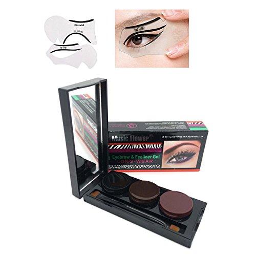 vonisa-waterproof-3-color-in-1-gel-eyeliner-eyebrow-cream-shadow-palette-brown-black-coffee-with-cat