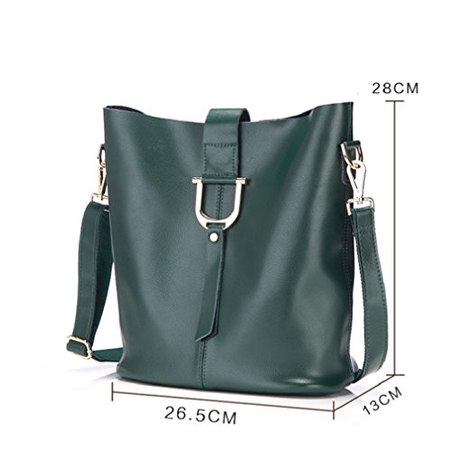 Borsa del messaggero di joker borsa a tracolla singola slant span semplicità borsa a secchiello borse donna-I H