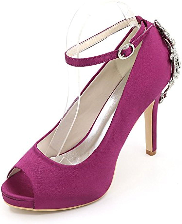 Chenxia Zapatos De Boda De Las Mujeres De Tacón Alto Peep Toe Sandalias De Boda/Fiesta Y Zapatos De Boda Por La... -