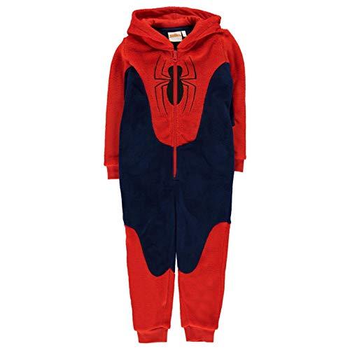 Spiderman Childrens Onesie Hooded Robe Dressing Gown