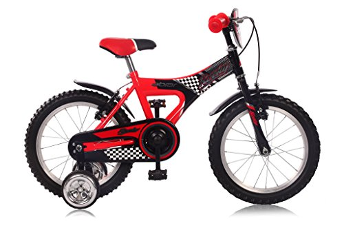 "12"" 12 ZOLL Kinder Fahrrad Bmx Kinderfahrrad RAD Kinderrad Bike Rücktrittbremse ROCKY ROT"
