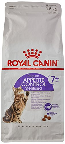 Royal Canin Feline Sterilised +7 Appetite Control, 1er Pack (1 x 1,5 - Appetite Control Royal Canin Sterilised