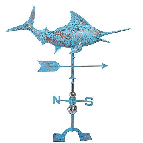 Iorman originale artigianale 3D Swordfish segnavento direzioni