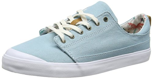 Reef Damen Girls Walled Low Sneaker, Blau (Steel Blue), 37.5 EU Reef Girls