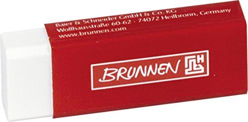 brunnen-gomma-da-cancellare-6-x-2-x-12-cm-colore-bianco-con-involucro-rosso