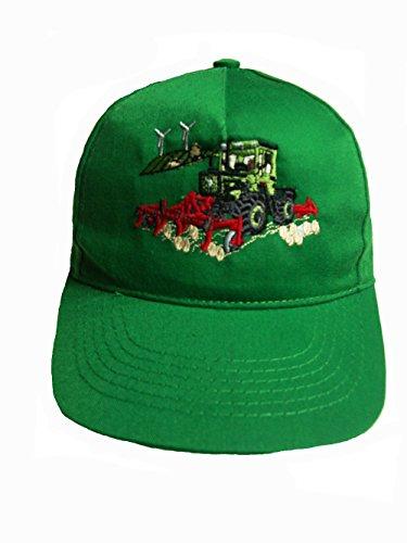 Zintgraf Jungen Baseball Kappe Traktor Stickerei Base Cap Trecker Egge (grün)