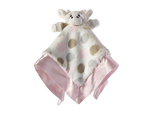 Little G Blanky - Couverture pour bébé, modèle à pois rose