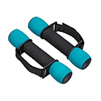 Women's Soft Dumbbells Foam Dumbbells Fitness Dumbbells Get Fit 3 Pound Walking Weights Comfortable/easy Grip/enhanced Cardio Workout