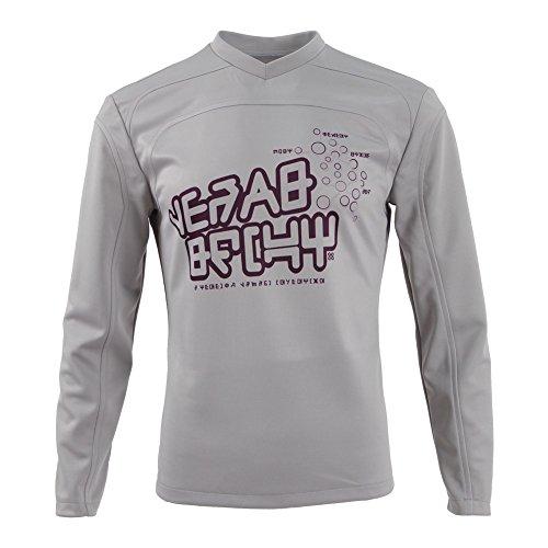 Herren Langärmeliges T-Shirt mit High-Performance-Nähten V-Neck (L) (Herren Performance V-neck-pullover)