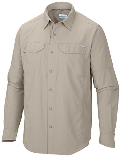 columbia-mens-silver-ridge-long-sleeve-shirt-fossil-x-large