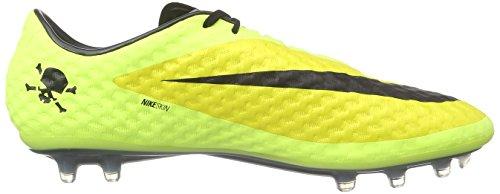 Nike Hypervenom Phantom FG, Chaussures de Football Entrainement Homme, Volt-Persian Violet-Hot Lava-Black, Taille Unique Gelb (Vibrant Yellow/Black/Volt Ice)