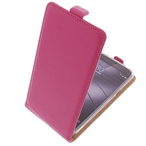 foto-kontor Tasche für Gigaset Me Pure Smartphone Flipstyle Schutz Hülle pink