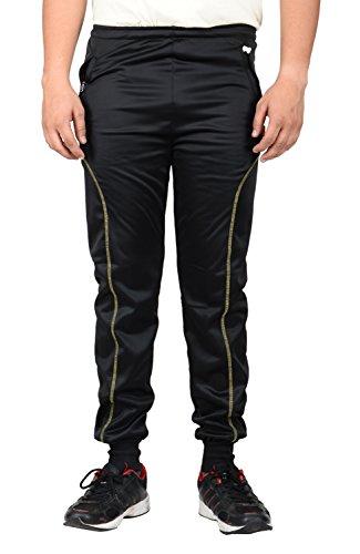 Mxx Sports Men's Regular Fit Track Pant (MXLSUP0426 _ 38, Black)