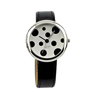 Eton Negro Polka Dot Dial Watch 2685J-BK