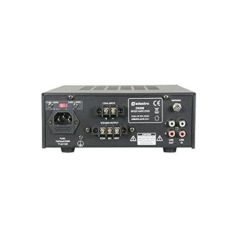 Adastra Cm30b 100V Mixer-amplifier avec USB/FM/Bluetooth