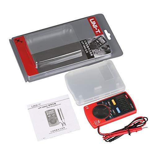 Tragbares Digital-Multimeter UT120C Handmultimeter Auto Range Multitester Tragbarer Voltmeter Tester Meter Amperemeter