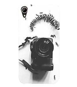 PRINTSHOPPII CAMERA UNIQE Back Case Cover for HTC Desire 828 Dual SIM