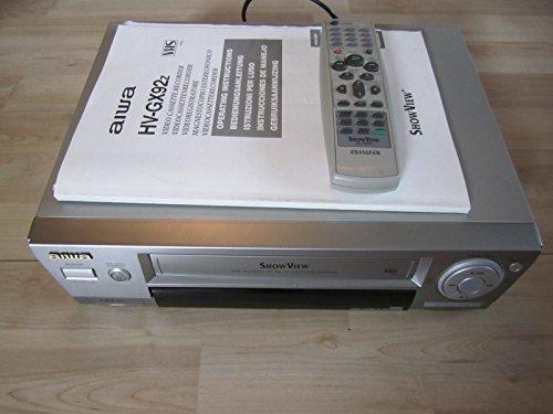 Aiwa FX525 VHS Videorekorder. 6 Köpfe, HiFi Stereo Aiwa Stereo