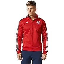 adidas Fcb 3S Trk Top Sudadera Línea FC Bayern de Munich f5a51a0c176
