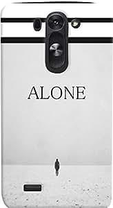 PrintVisa Love Alone Case Cover for LG G3 Beat 722K