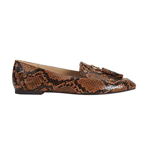 Parfois - Zapatos Tacón Bajo Mocassin Snake - Mujeres
