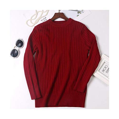 SIKESONG Winter Dicke Frauen Pullover Pullover Basic rippe gestrickt Baumwolle Tops solid Crew Neck...