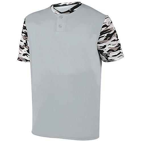 Augusta Herren T-Shirt SILVER/BLACK MOD