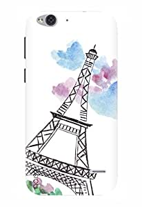 Noise Designer Printed Case / Cover for Lyf Water 2 / Patterns & Ethnic / Paris Design