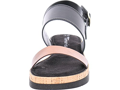 Tamaris 11 28223 38 097, Sandali donna black/copper