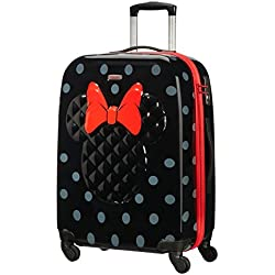Samsonite - Disney Ultimate Minnie Spinner Maleta, M (66 cm - 62.5 Litros), Negro (Minnie Iconic)