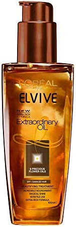 L'Oreal Paris Extraordinary Oil Extra Rich Formula beautifying treatment for dry and damaged hair 100ML