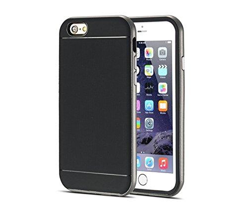 Phone case & Hülle Für iPhone 6 / 6S, Bumblebee Slim Hybrid PC Frame & TPU Schutzhülle ( Color : Yellow ) Grey
