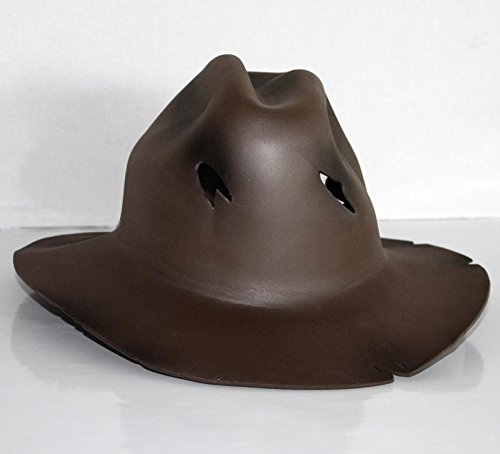 Einheitsgröße, braun (ohne Maske), Material: Polyurethan Schaumstoff (Freddy Outfit)